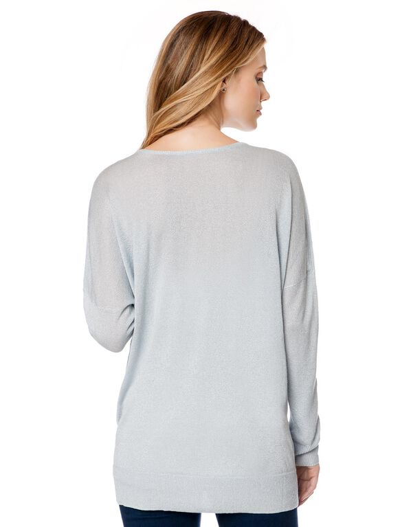Maternity Sweater, Grey