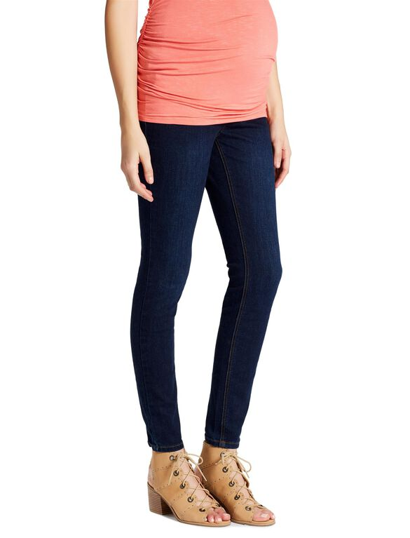 Jessica Simpson Secret Fit Belly Skinny Leg Maternity Jeans, Dark Wash