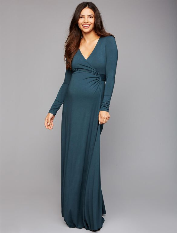 Rachel Pally Harlow Wrap Maternity Dress, Elm