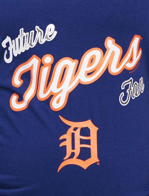 Detroit Tigers MLB Future Fan Maternity Tank, Tigers Navy