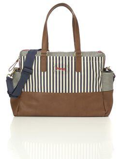 Babymel Millie Bag– Navy Stripe, Navy