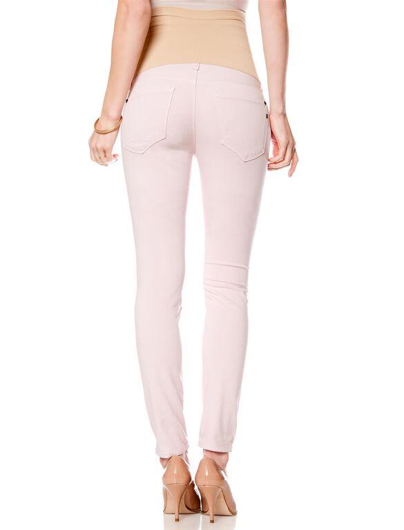 Genetic Secret Fit Belly Skinny Leg Maternity Jeans, Petal