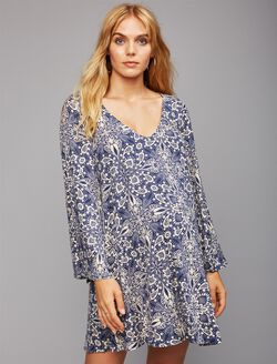 Web Only Rachel Pally Fit And Flare Maternity Dress, Stargazer Print