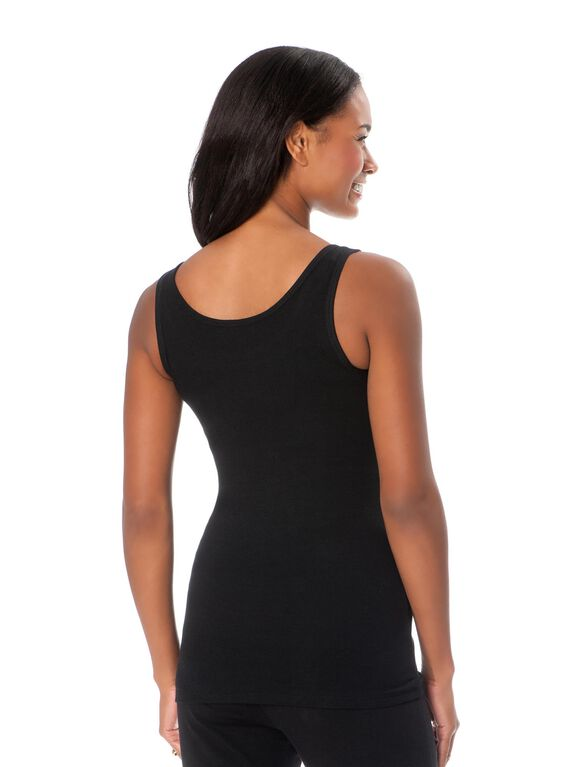 All I Want For Christmas Maternity Tank, Black
