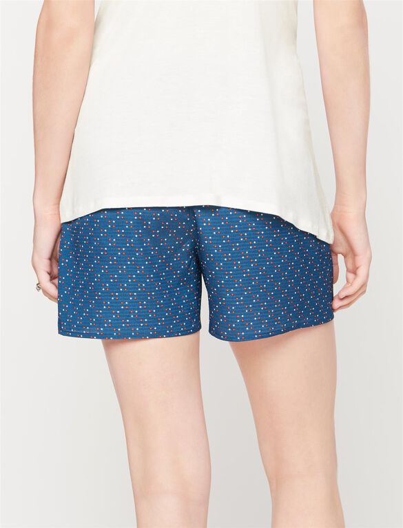 Rachel Zoe Secret Fit Belly Dot Print Maternity Shorts, Dot Print