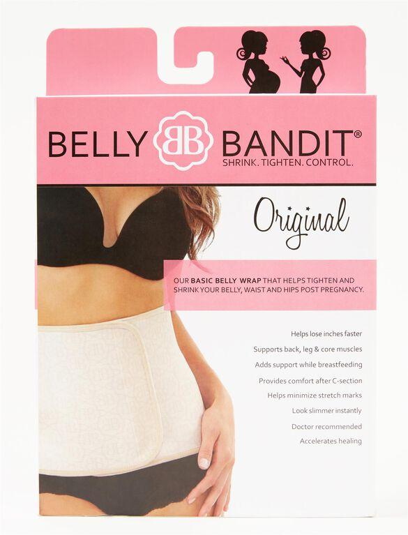 Original Belly Bandit Post Pregnancy Belly Wrap, Neutral Logo Print