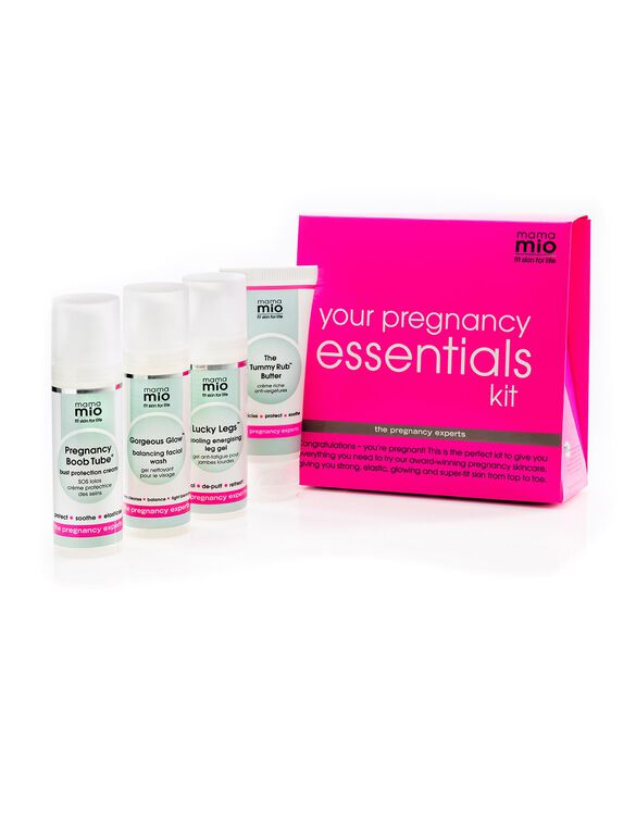 Skincare Pregnancy Essentials Kit From Mama Mio, No Color