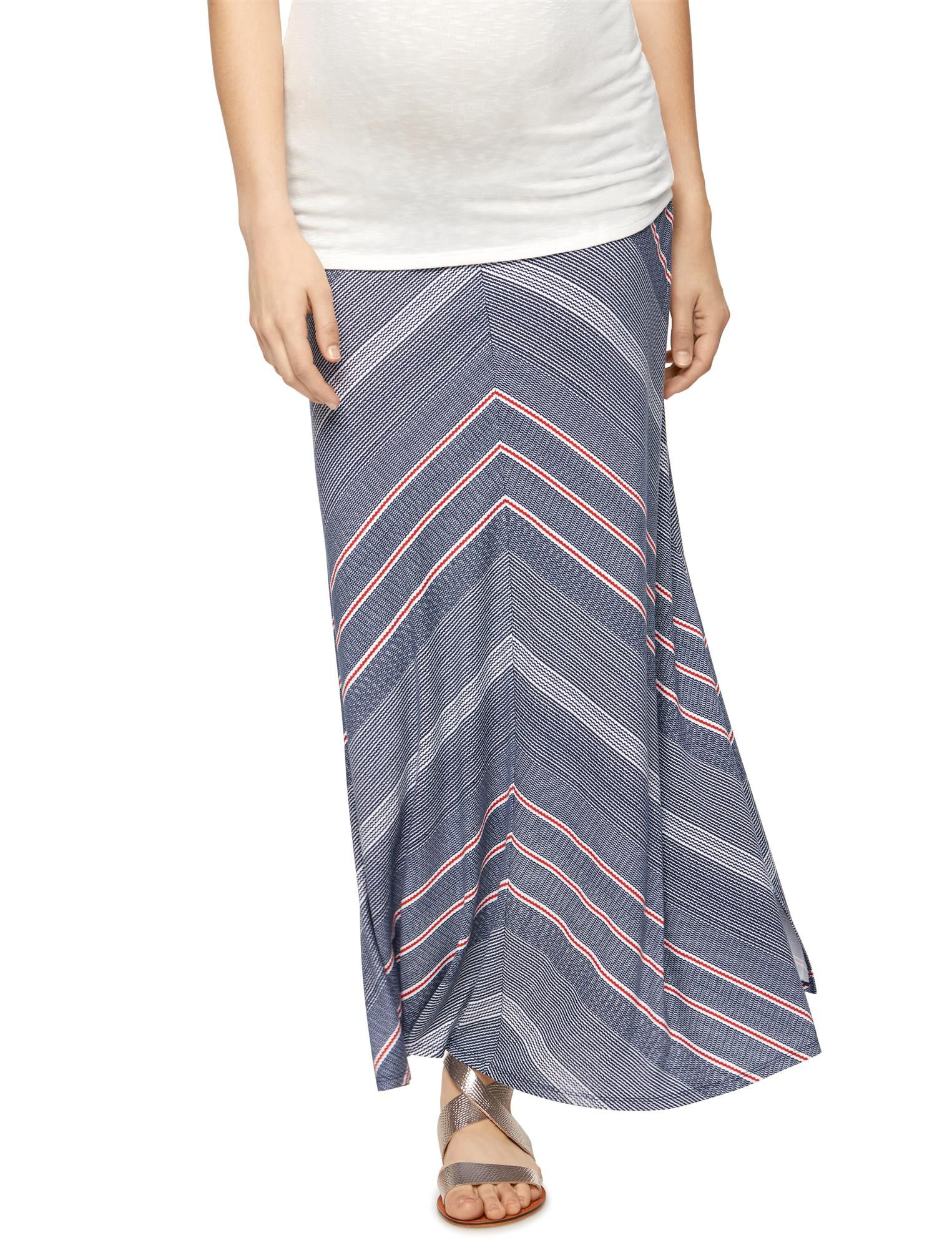 Self Belly Maternity Maxi Skirt