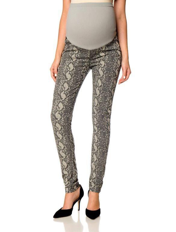 Hudson Secret Fit Belly Print Maternity Leggings, Serpant Print
