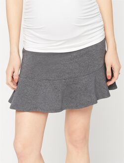 Splendid Secret Fit Belly Maternity Skirt, Charcoal