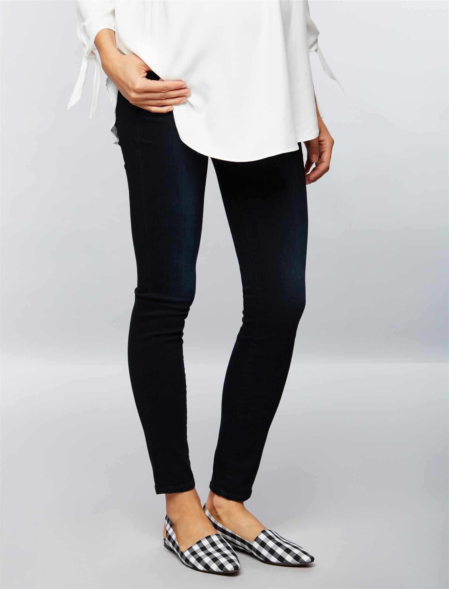 FRAME Secret Fit Belly Le Skinny de Jeanne Maternity Jeans- Manor Ave