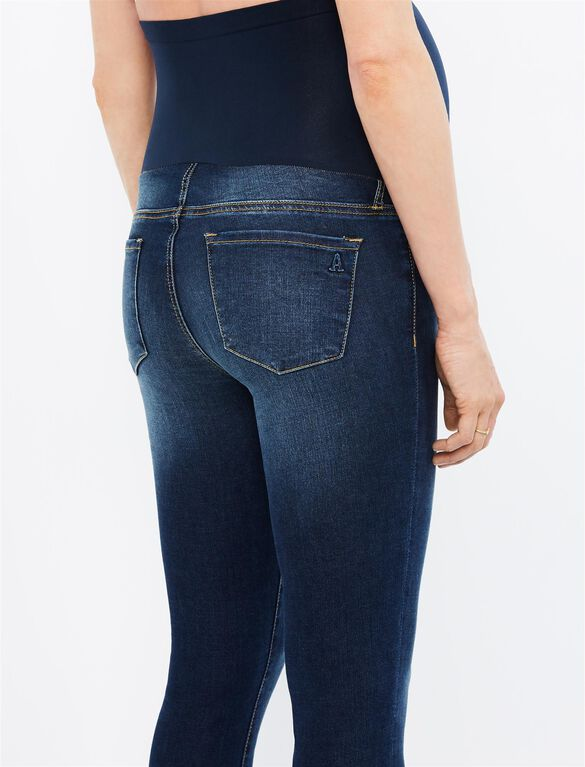 Articles Of Society Secret Fit Belly Mya Maternity Jeans, Del Ray Dark Wash