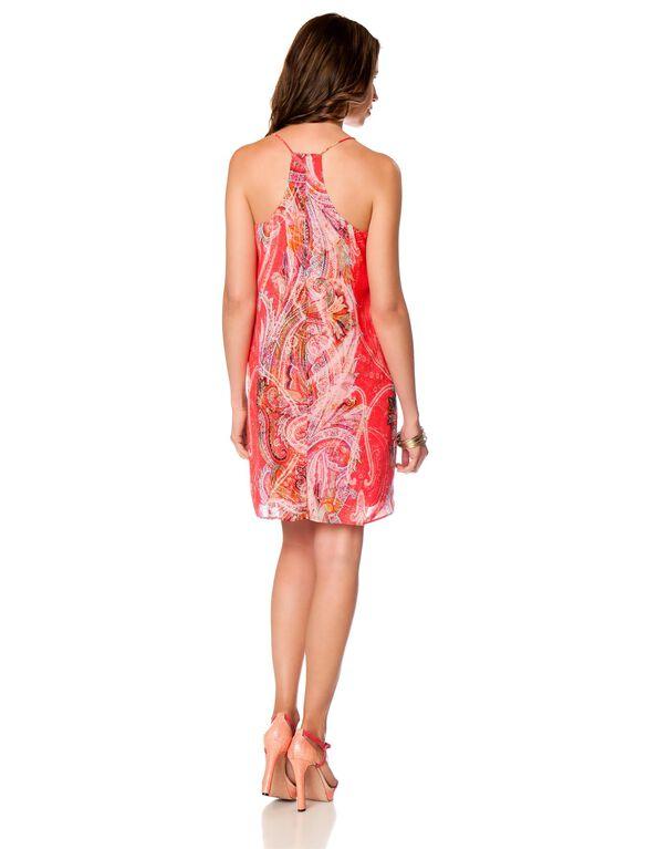 Shift Dress Maternity Dress, Paisley Print