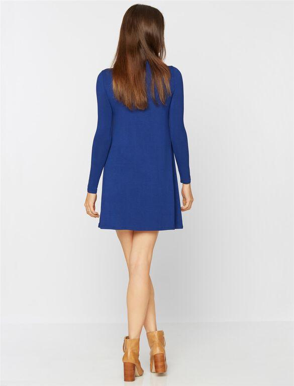 Bcbg Max Azria Jeanna Maternity Dress, Blue Depths