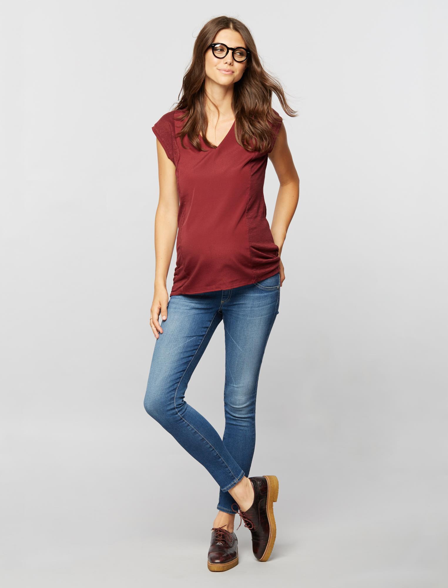 AG Secret Fit Belly Legging Ankle Maternity Jeans