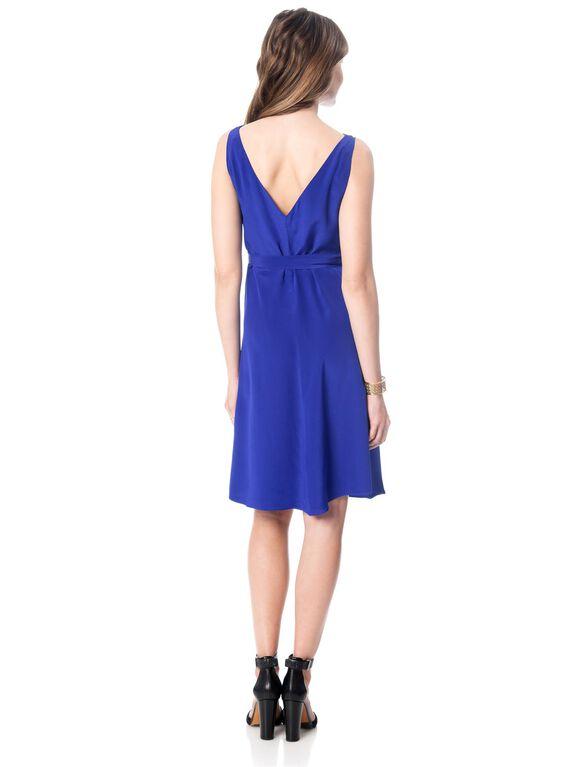 Shift Dress Maternity Dress, Sapphire