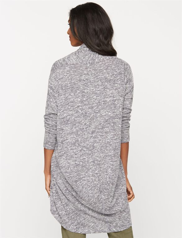 Cocoon Maternity Cardigan, Grey