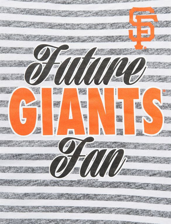 San Francisco Giants Mlb Short Sleeve Maternity Graphic Tee, Giants