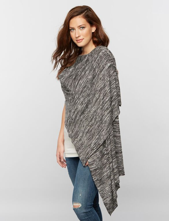 Nursing Scarf Hacci Grey, Charcoal