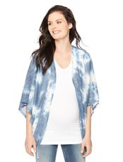 Wendy Bellissimo Maternity Kimono, Tie Dye