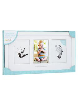 X Pearhead Baby Prints Photo Frame, Baby Prints Frame