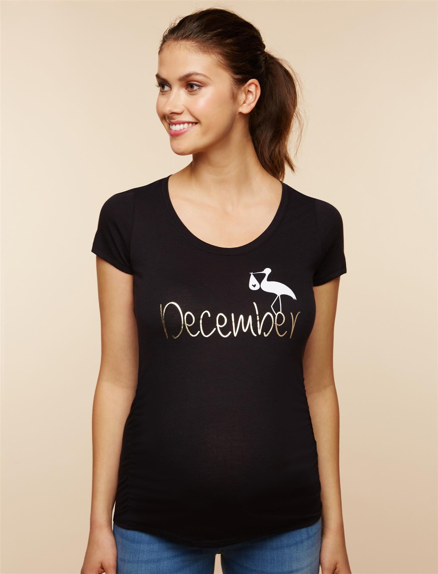 Stork December Maternity Tee