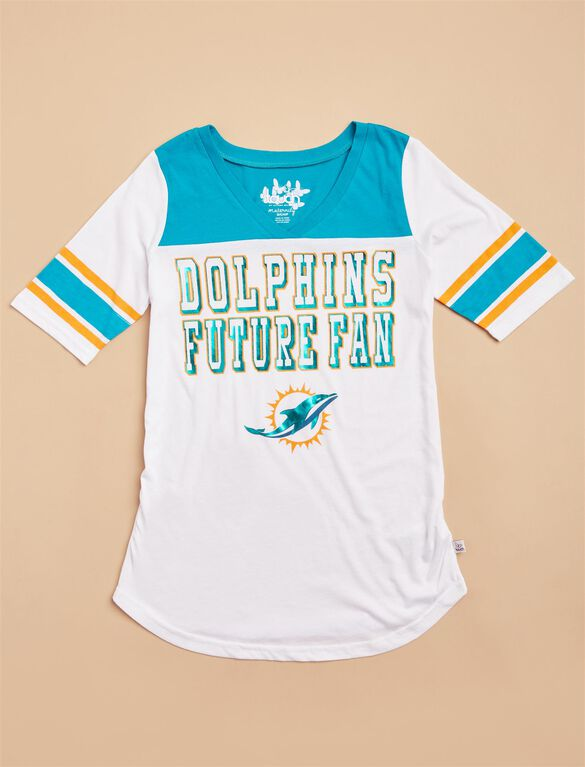 Miami Dolphins NFL Future Fan Maternity Tee, Dolphins