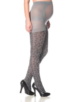 Animal Print Maternity Tight, Leopard