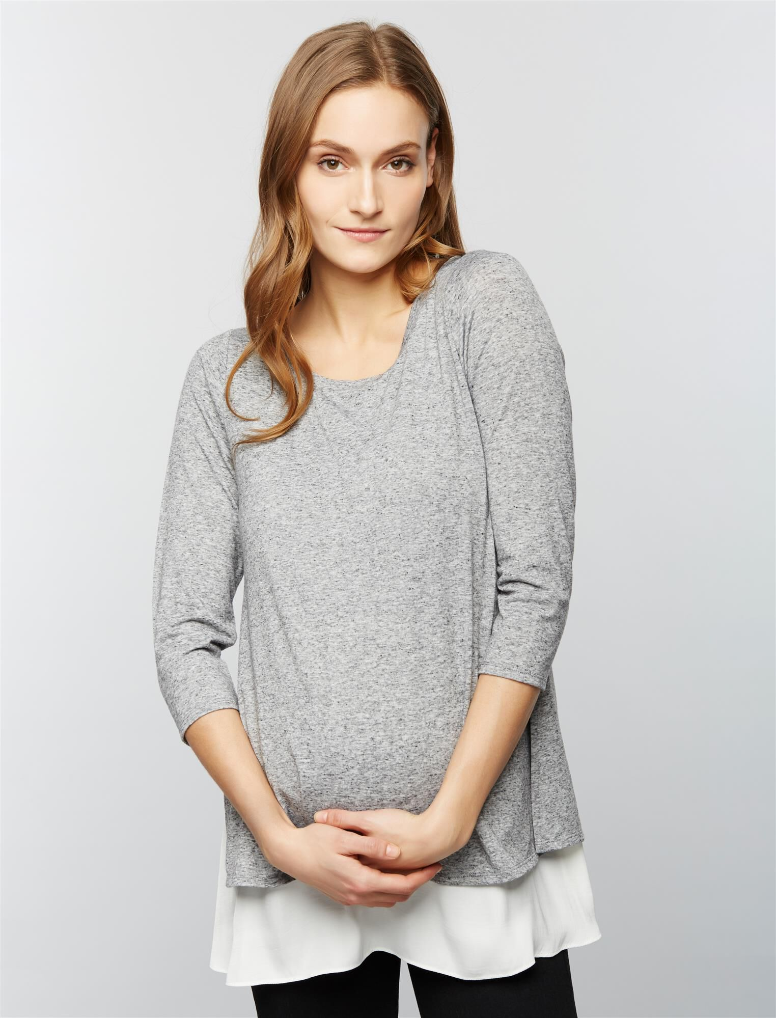 Lift Up Babydoll Nursing Top
