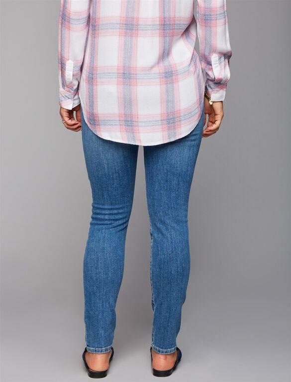Joe's Secret Fit Belly Icon Skinny Ankle Maternity Jeans, Midge