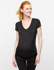 Beyond The Bump Maternity Tee- Black, Black