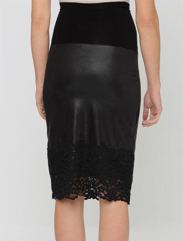 Hale Bob Secret Fit Belly Maternity Skirt, Black