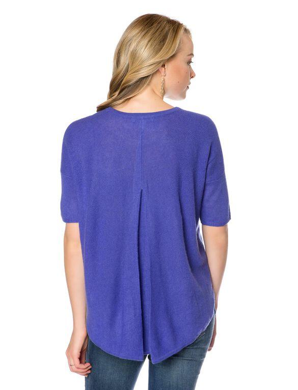 Maternity Sweater, Blueberry