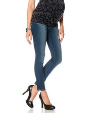 Paige Denim Secret Fit Belly Skinny Maternity Ankle Jeans, Easton - Med Wash