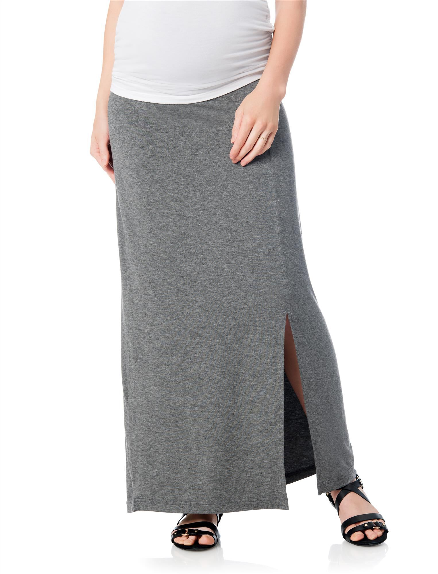 Self Belly Maternity Skirt
