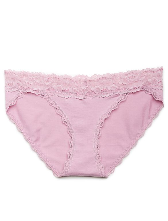 Jessica Simpson Lace Trim Panty (single)- Potpourri, Potpourri