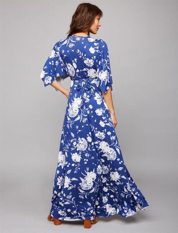 Rachel Pally Caftan Maternity Maxi Dress- Peony Print, Seaside Peony Print