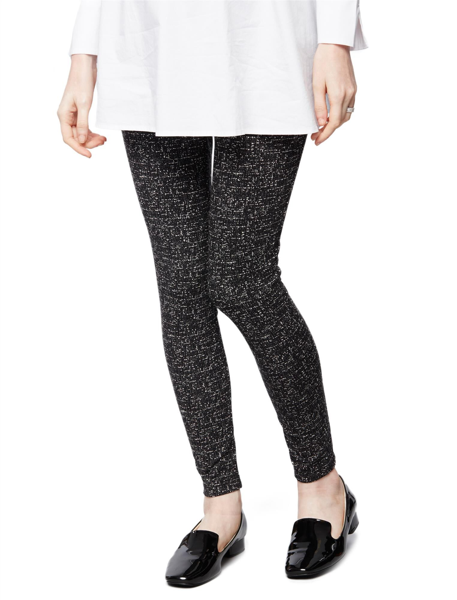 Under Belly Ponte Maternity Pants