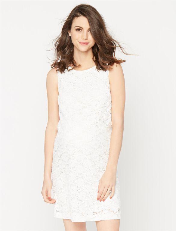 Pietro Brunelli A-line Maternity Dress, White