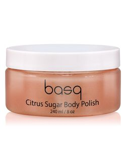 Basq Citrus Sugar Skin Perfecting Scrub, Citrus Sugar