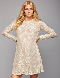 Bcbgmaxazria Lace Maternity Dress, Corozo