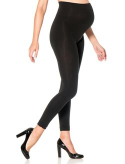 Footless Maternity Tights, Black