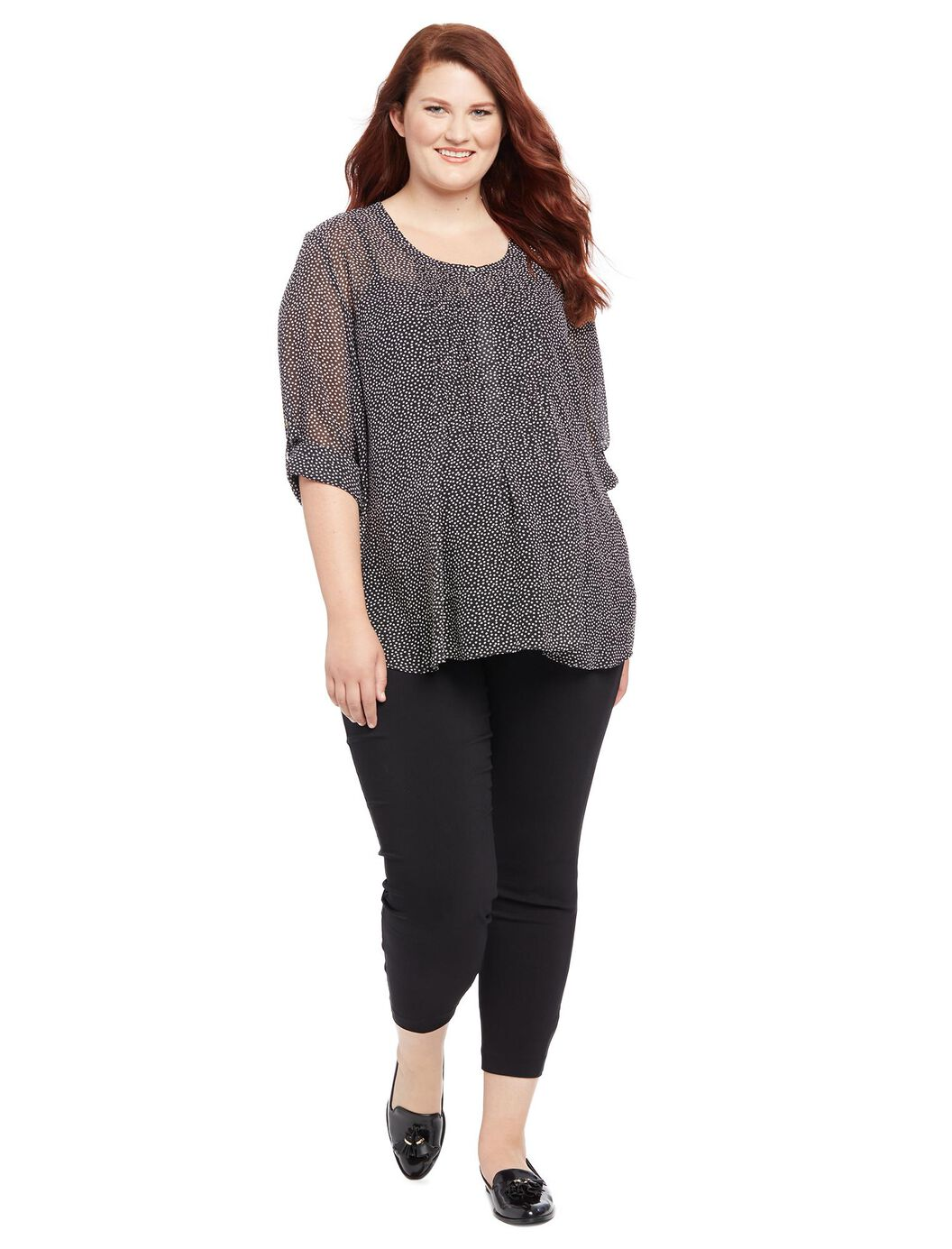 Tops Plus Size Maternity. Narrow by Top Style. T-Shirt. Blouse. Graphic Tee. Nursing. Cold Shoulder. Button Up Shirts. Lace Up. See More. Filter; Sale $ Free ship at $49 Motherhood Maternity Plus Size Wrap Top.