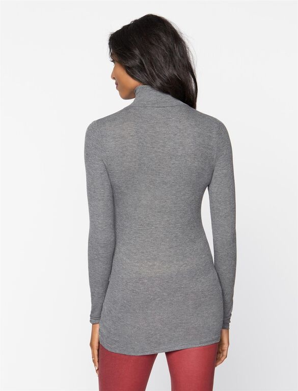 Maternity Top, Grey