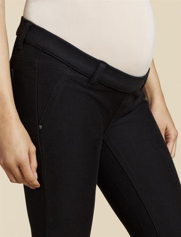 Jessica Simpson Under Belly Skinny Leg Maternity Pants, BLACK