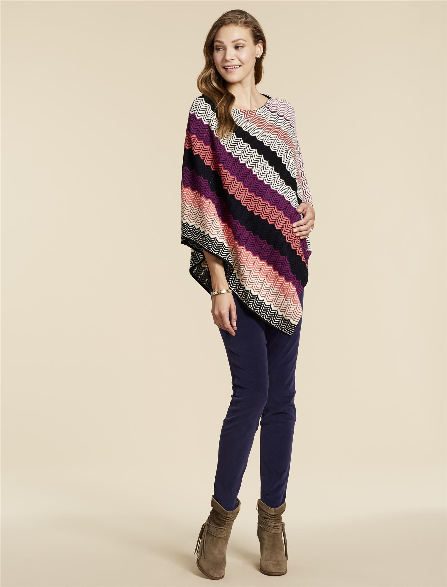 Jessica Simpson Poncho Maternity Sweater