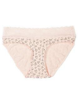 Maternity Bikini Panties (single), Sketch Heart Print