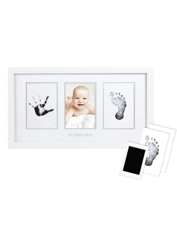 X Pearhead Baby Prints Photo Frame, Baby Prints Frame