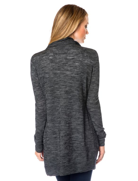 Cascade Maternity Sweater, Charcoal