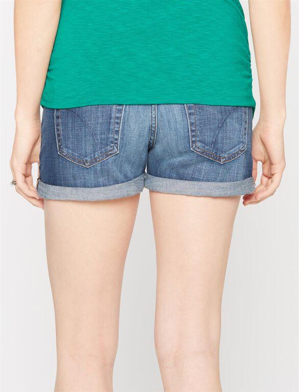 Joe's Jeans Secret Fit Belly Emmie Maternity Shorts, Emmie Dark Wash